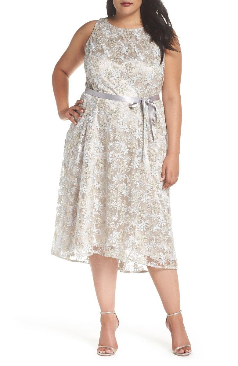Champagne Color Plus Size Dresses – DACC