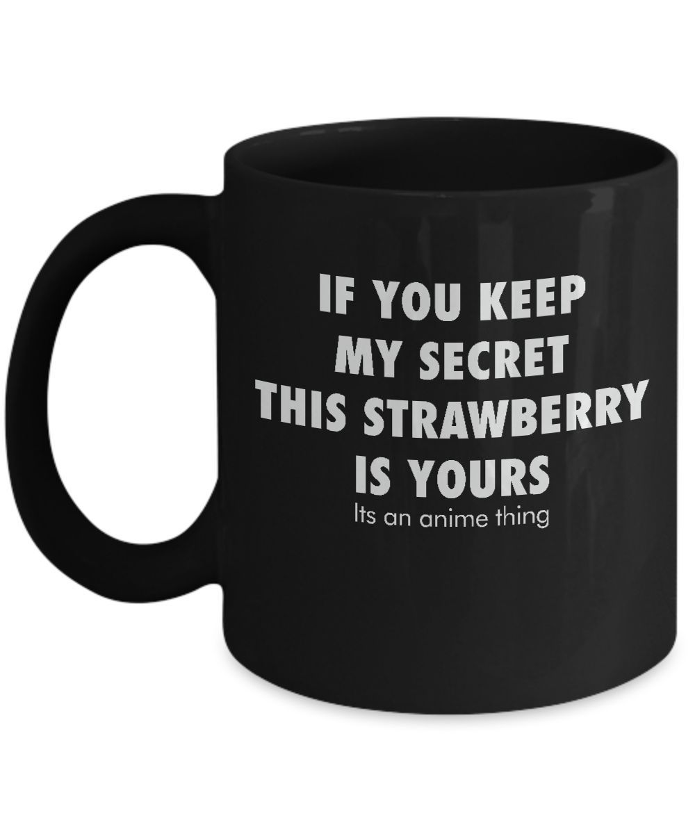 Anime Death Note L Quote Mug In Black