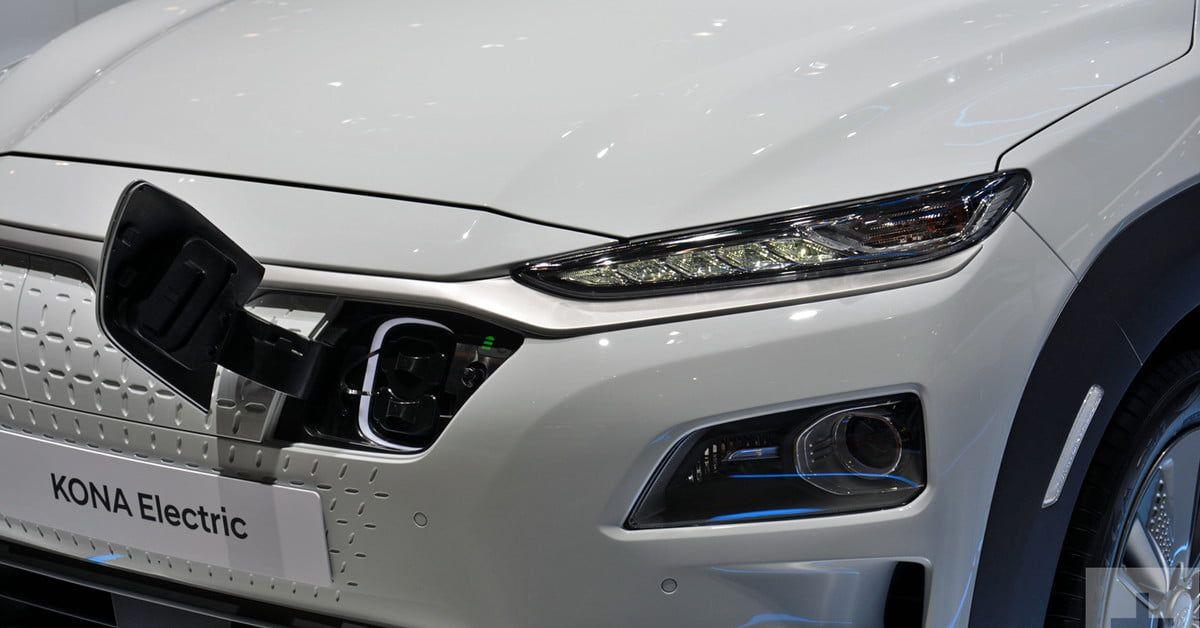 Hyundai Kona Electric Revealed Ahead of 2018 Geneva Motor