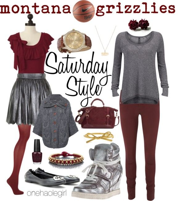 """March 16th Montana Grizzlies"" by onehaolegirl on Polyvore"