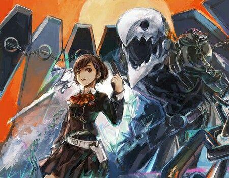 Thanatos And Minako Persona Anime Anime Images