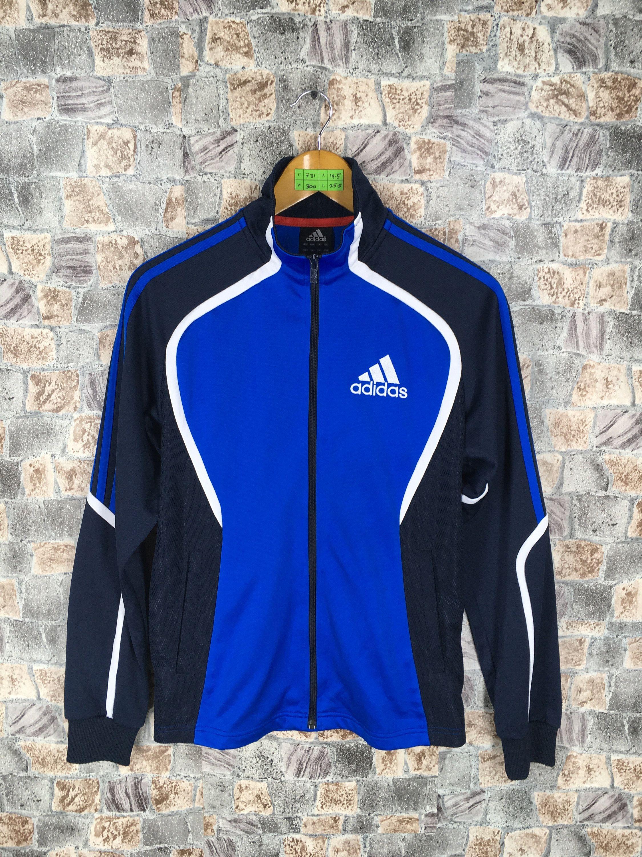 Adidas Windbreaker Track Top Sport Jacke Leicht 90s Jacket