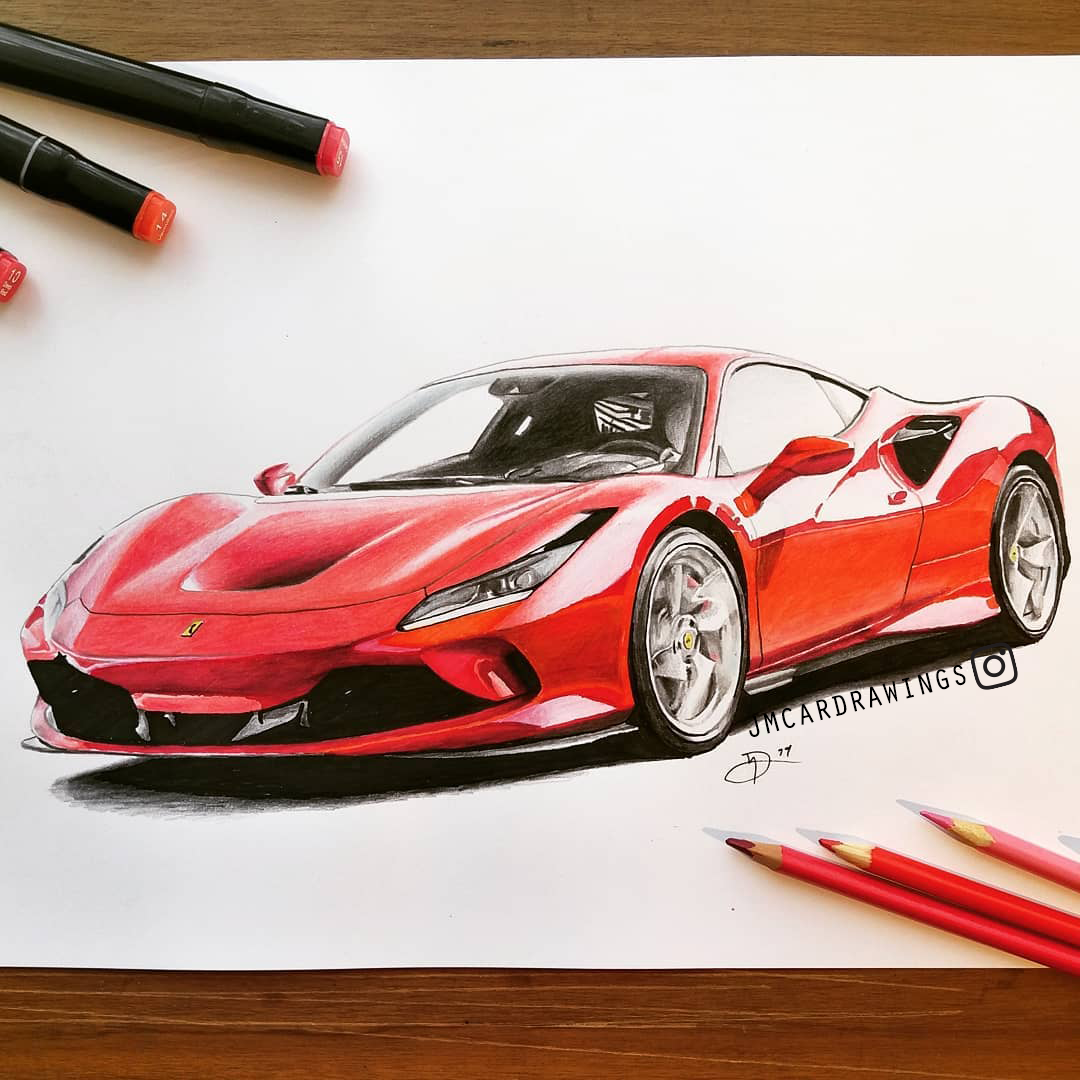 Ferrari F8 Tributo Colors: Please, Make Sure To Follow Me At My Instagram Account