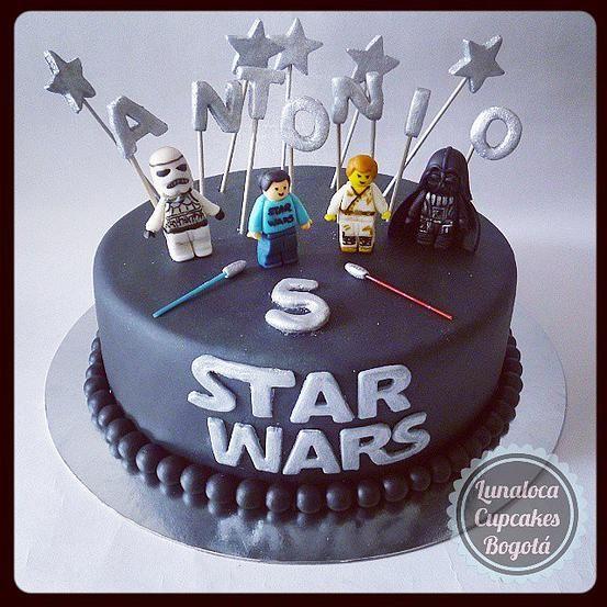 Super Torta Lego Star Wars - Lego Star Wars Cake. | cumpleaños niños  DS42