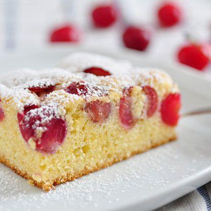 Rhabarber Kirsch Kuchen