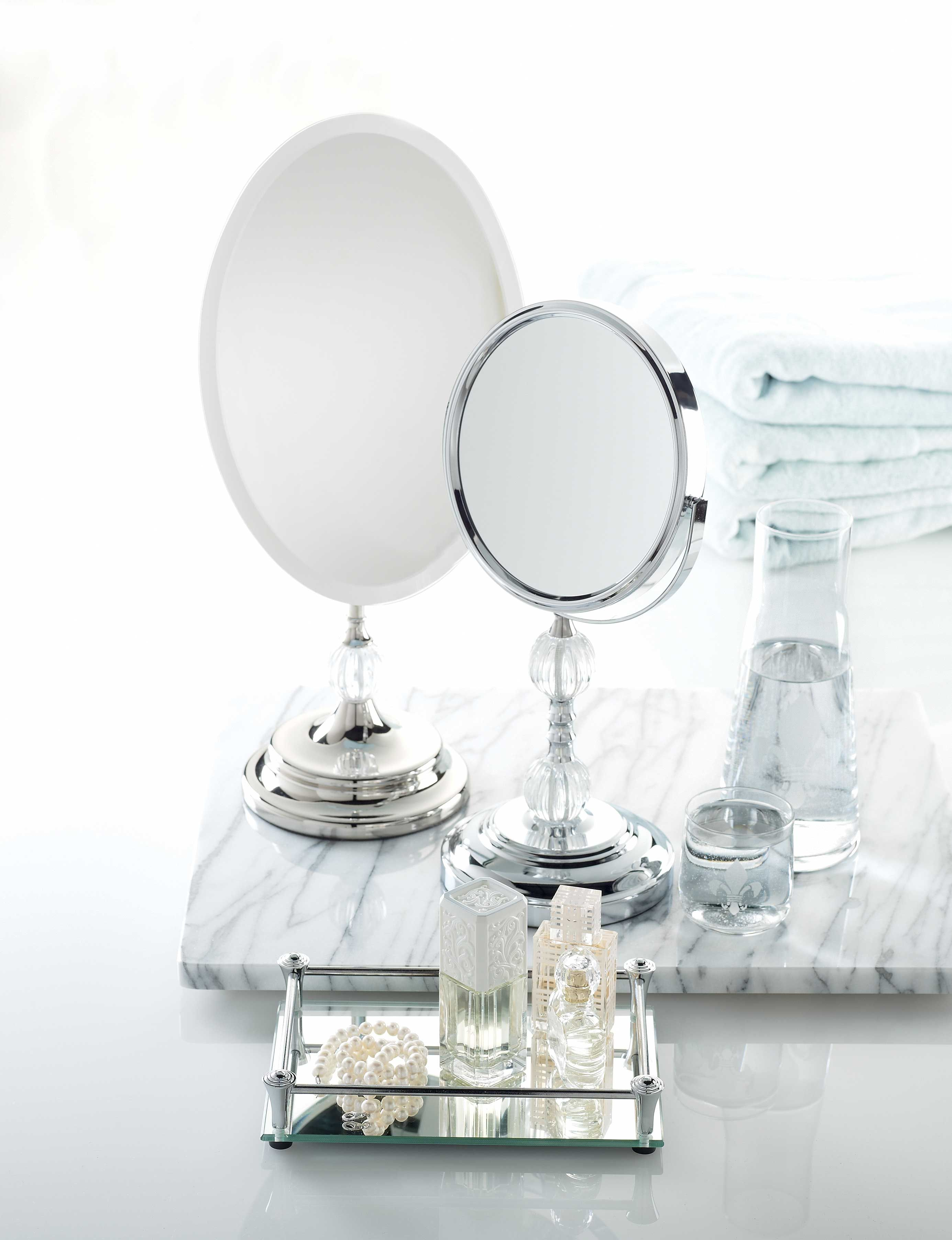Look like the fairest of them all with a stylish vanity mirrors look like the fairest of them all with a stylish vanity mirrors tray and bedside geotapseo Choice Image
