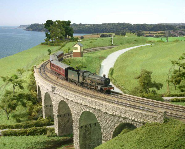train layout   Model Train Layout For Sale – ho n o scale gauge