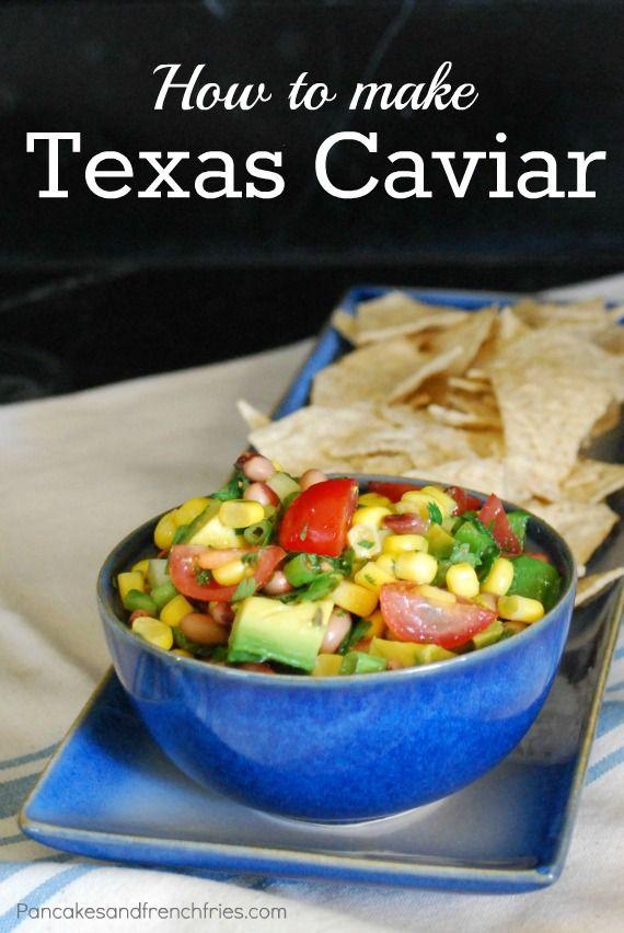 Texas Caviar from pancakesandfrenchfries.com #allergyfree #glutenfree #soyfree