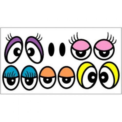 Color Eyes Stickers