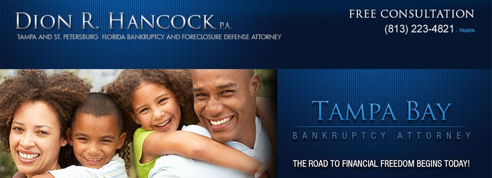 Bankruptcy Attorney Tampa Bay St Petersburg Florida Petersburg