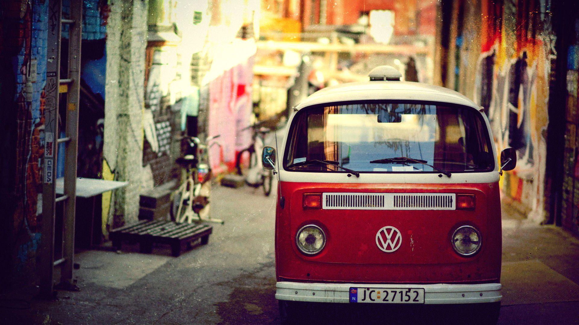 volkswagen vintage bus volkswagen