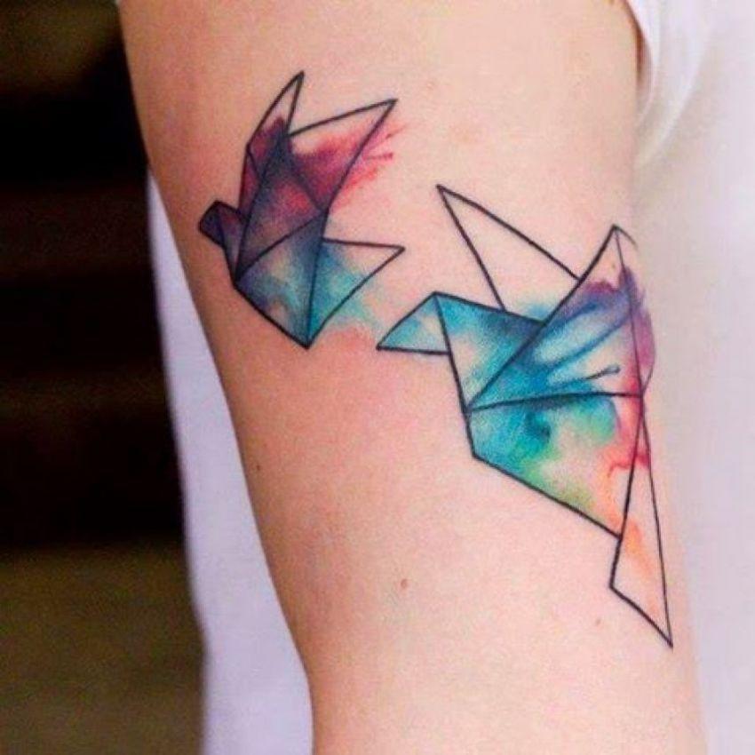Znalezione Obrazy Dla Zapytania Tatuaż Akwarela Koliber Projekty