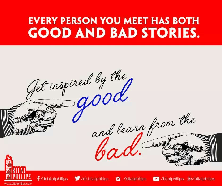 Take The Good And Leave The Bad Quotes Islamic Quotes Muslim Character