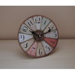 Vintage Parisian Clock with Stand