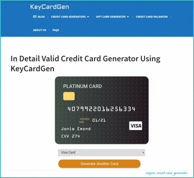 Credit Card Generator The Ebay Community Paypal Credit Card Generator In 2021 Mastercard Gift Card Mobile Credit Card Gift Card Generator