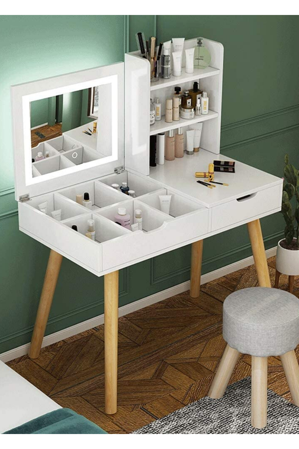 Dressing Table Cosmetic Storage Room Economy Furniture ...