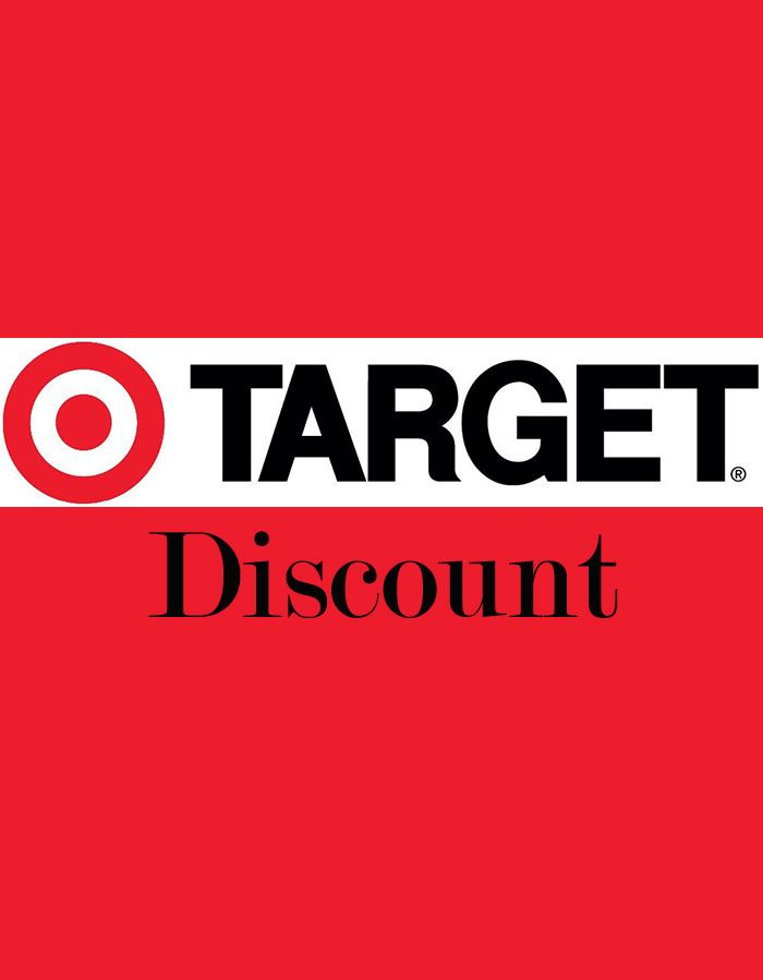 Get a student discount at TARGET  Great for buying dorm stuff. Get a student discount at TARGET  Great for buying dorm stuff