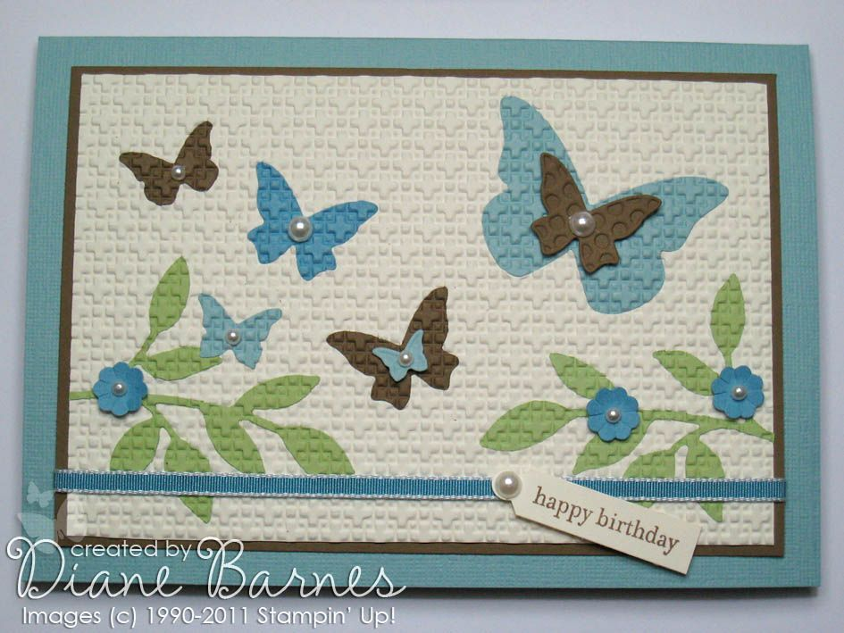 colour me happy: Inlaid embossing...Instructions