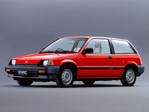 Honda Civic Hatchback 1983 1987 Hell Wheels Pinterest