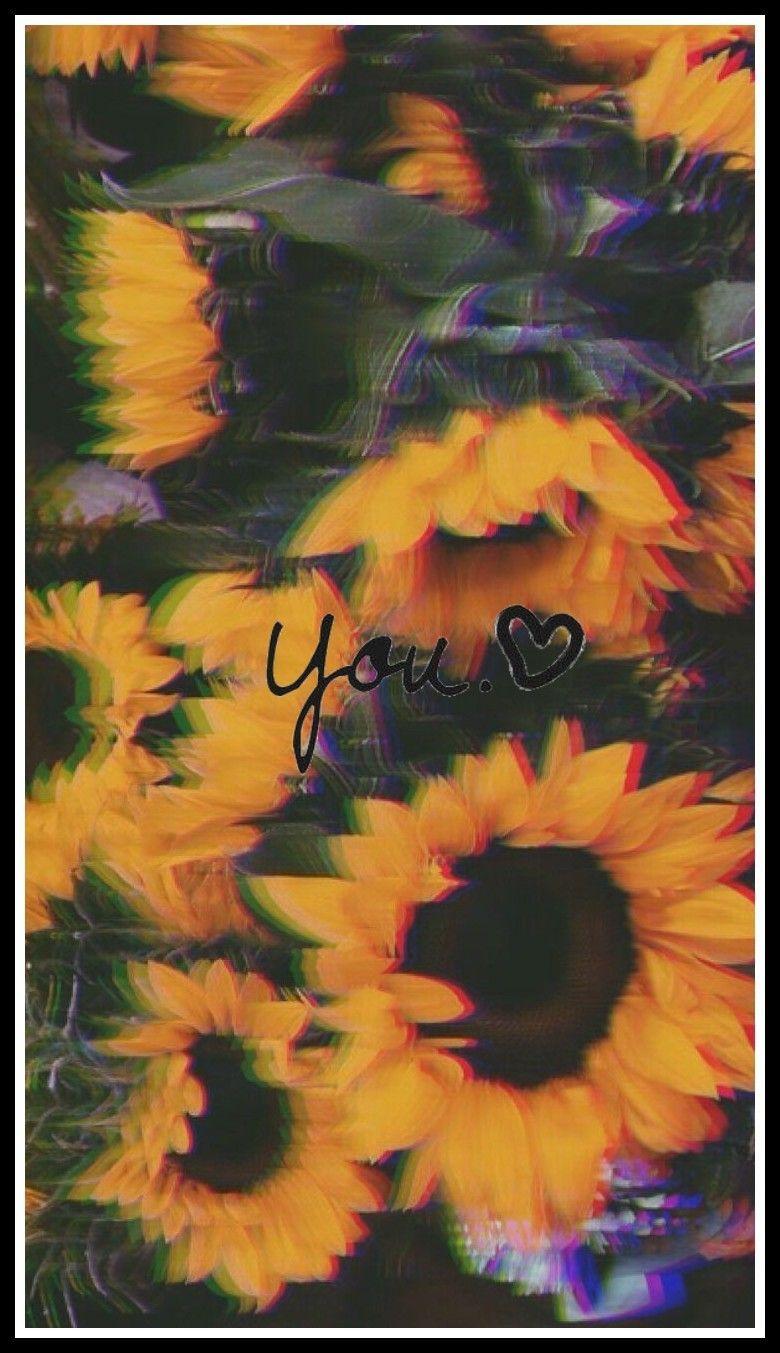 Fondo De Pantalla Flores Tumblr Girasol Fondos