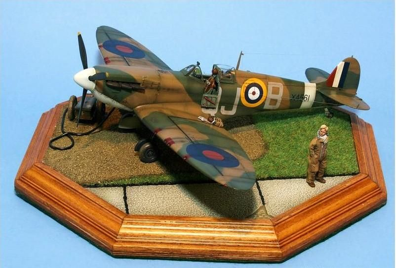 Tamiya Spitfire Mki 1 48 Rc Scale Modeling Simhq Forums Spitfire Model Tamiya Airfix Models