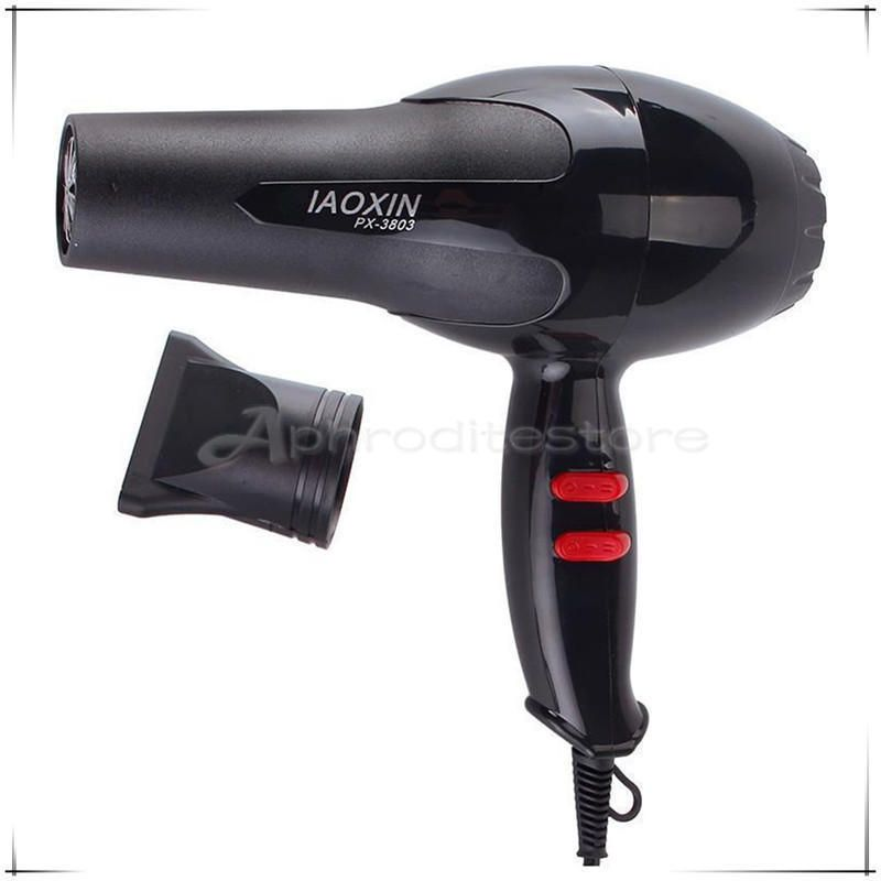 Black Hot Professional Style Hair Dryer 1600w Hair Dryer Blower Hair Dryer Travel Hair Dryer Professional Hair Dryer