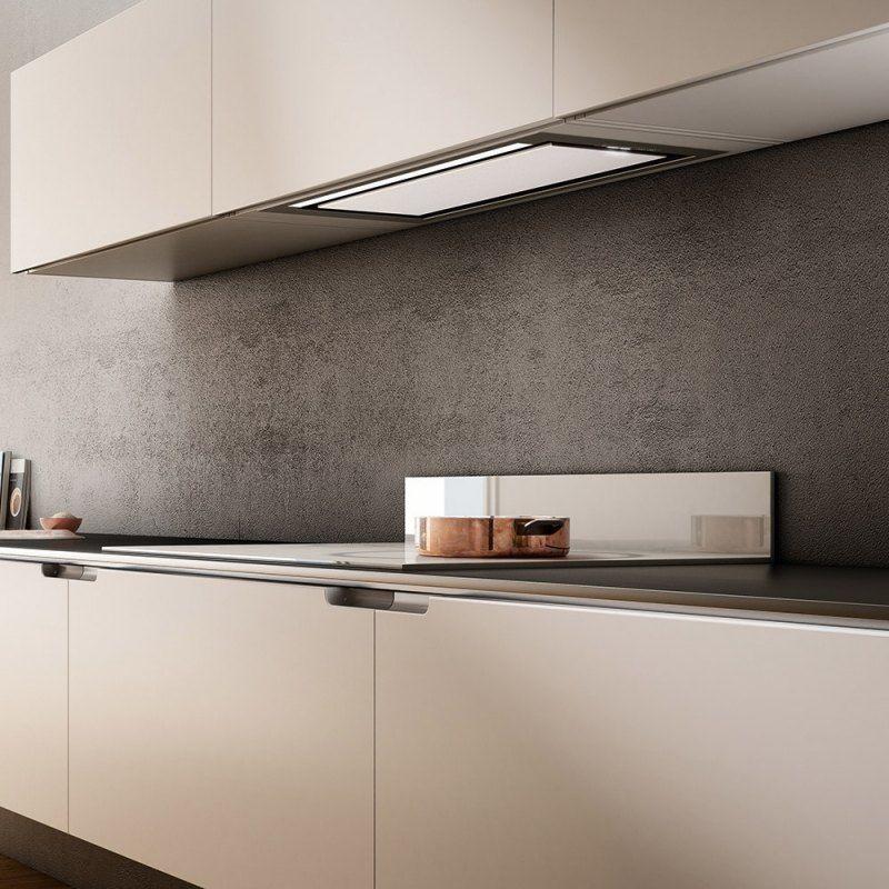 Abzugshaube zum Einbauen in dem Oberschrank | Küche | Pinterest