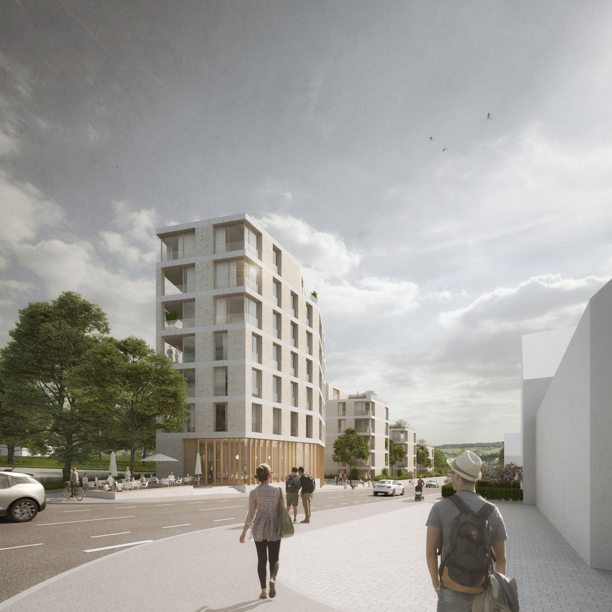 Architekten Heilbronn wettbewerb wohnbebauung heidelberger straße in heilbronn für