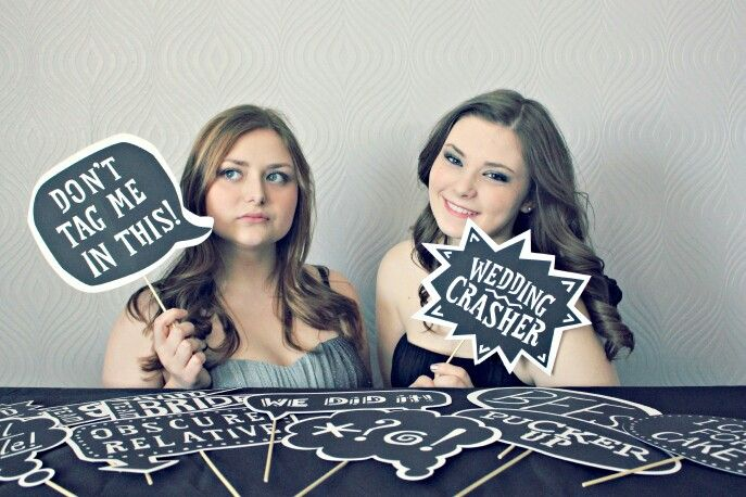 Awesome Wedding Photo Booth Quotes By Theposhshopweddings How Cool Are Th Wedding Photo Booth Props Plus Size Wedding Guest Dresses Top Wedding Photographers
