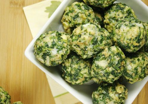 Ultimate list of baby and toddler finger foods spinach balls spinach balls recipe forumfinder Images