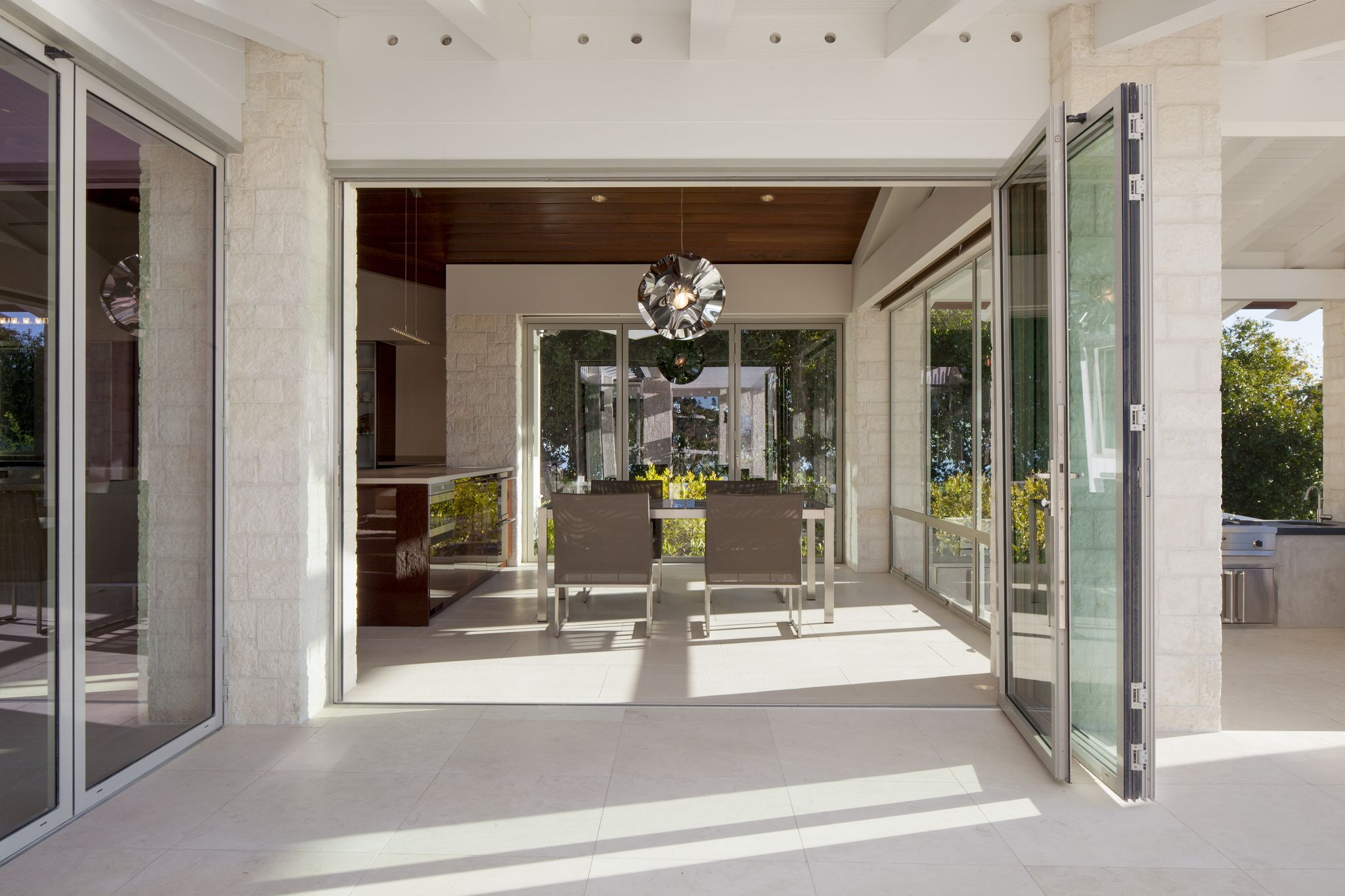 NanaWall SL45 Residence | Beach House Ideas | House design