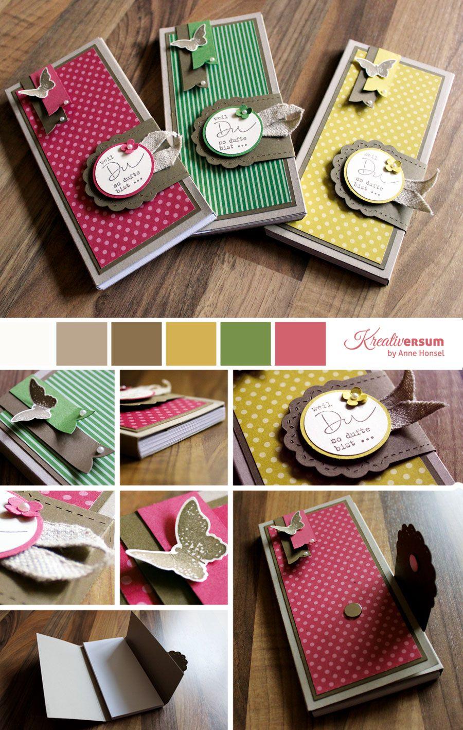 Handmade Paper Craft Handmade Teacher Gift Lot of 3 Teacher/'s Notepads