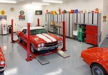Cargo Lift Design Ideas Pictures Remodel And Decor Garage Interior Modern Garage Garage Floor Coatings