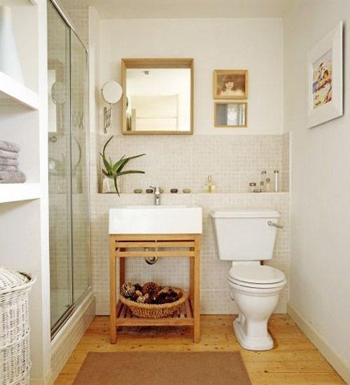 Cómo decorar una cuarto de baño pequeño? | mama e hija | Pinterest ...
