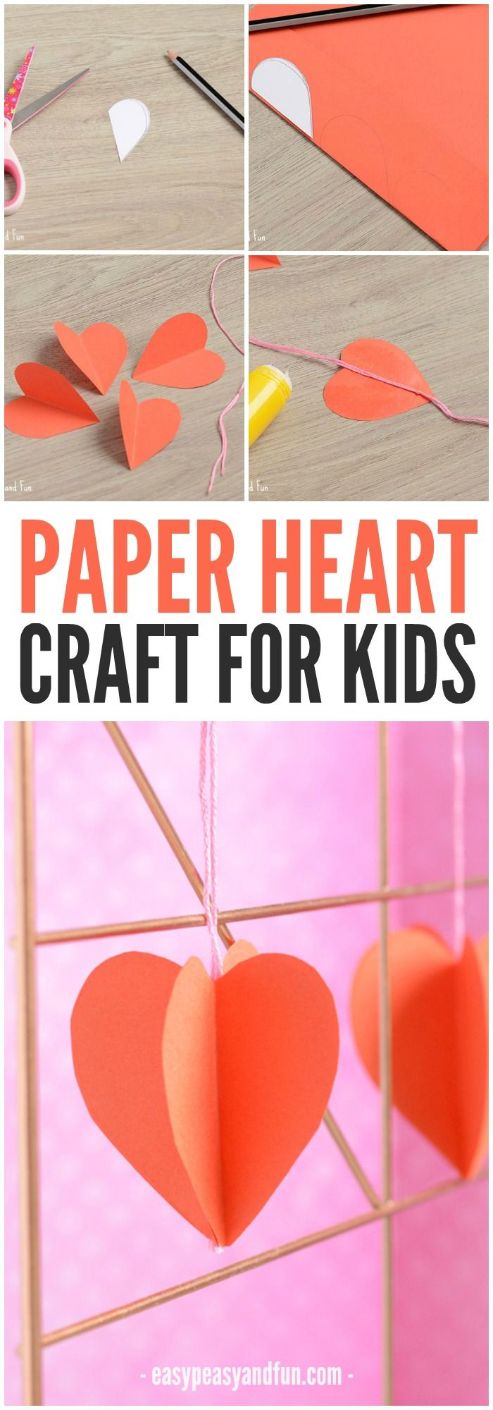 3d paper heart craft 3d paper heart crafts and paper hearts 3d paper heart craft jeuxipadfo Gallery