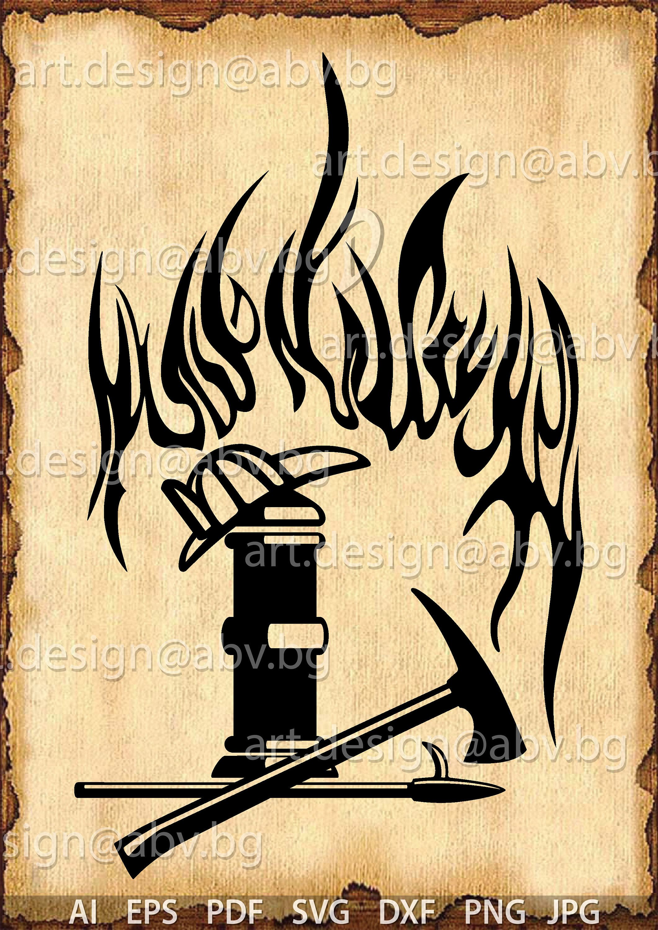 Vector Fire Fighter Fire Ai Eps Pdf Svg Dxf Png Jpg Download Files Digital Graphical Discount Coupons การตกแต งบ าน