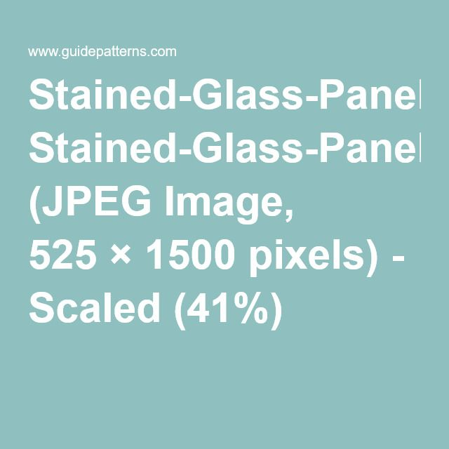 Stained-Glass-Panel-Patterns.jpg (JPEG Image, 525×1500 pixels) - Scaled (41%)
