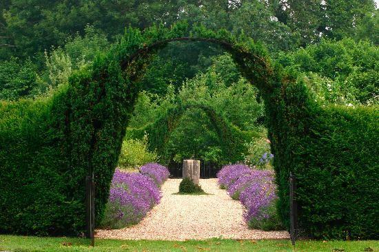 Garden Archway at Lainston House Hotel | Garden archway ...