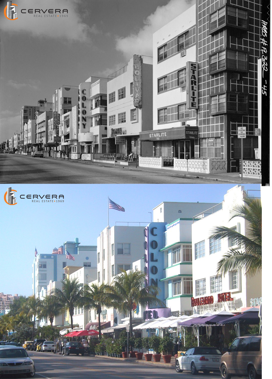 Then And Now This Is Oceandrive From 1980 To Tbt Miami Miamibeach Throwbackthursday Cerverare Southbeach