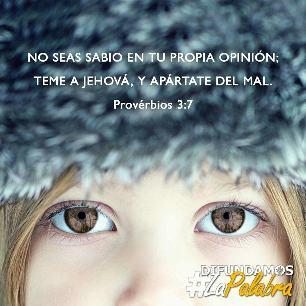 Proverbios 3:7