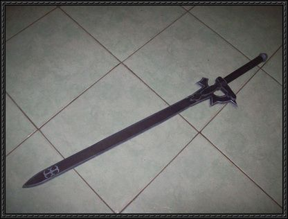 Sword Art Online Full Size Elucidator Sword Free