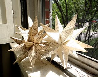 Home-made origami moravian stars | Christmas | Paper, Christmas door decorations, Paper crafts - photo#36
