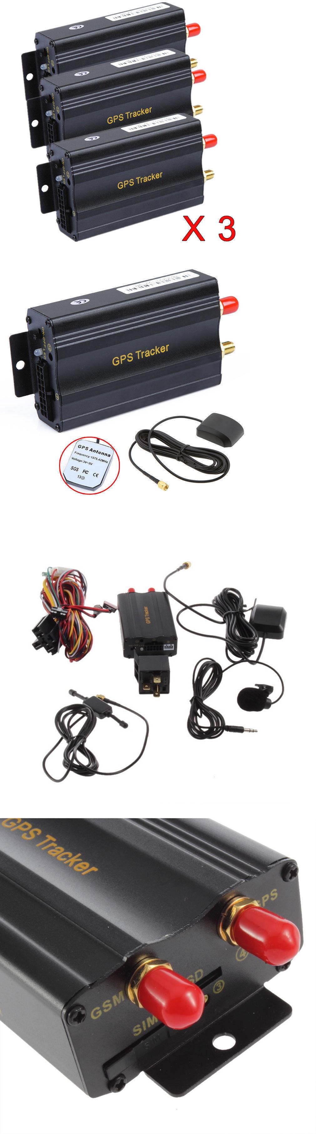 Other Vintage Electronics  3pcs Gps  Sms  Gprs Tracker