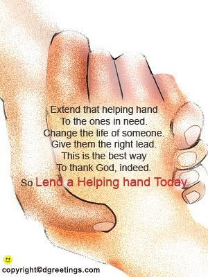 Lend A Helping Hand Quotes Day National Trail Mix Day Extend A Helping Hand Day Helping Hands Quotes Hand Quotes Helping Hands