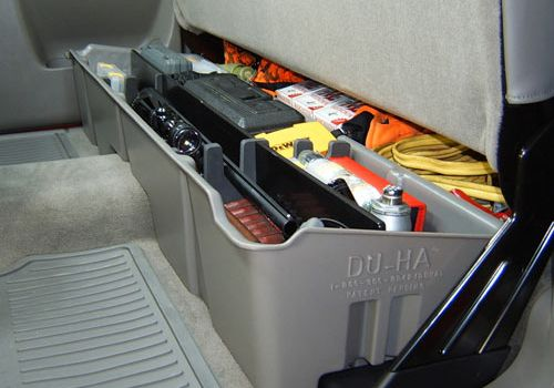 GMC Sierra Accessory  DuHa GMC Sierra Under Seat Storage Bin