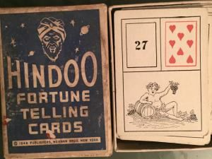 Old Gypsy Fortune Telling Cards – an American Jewish