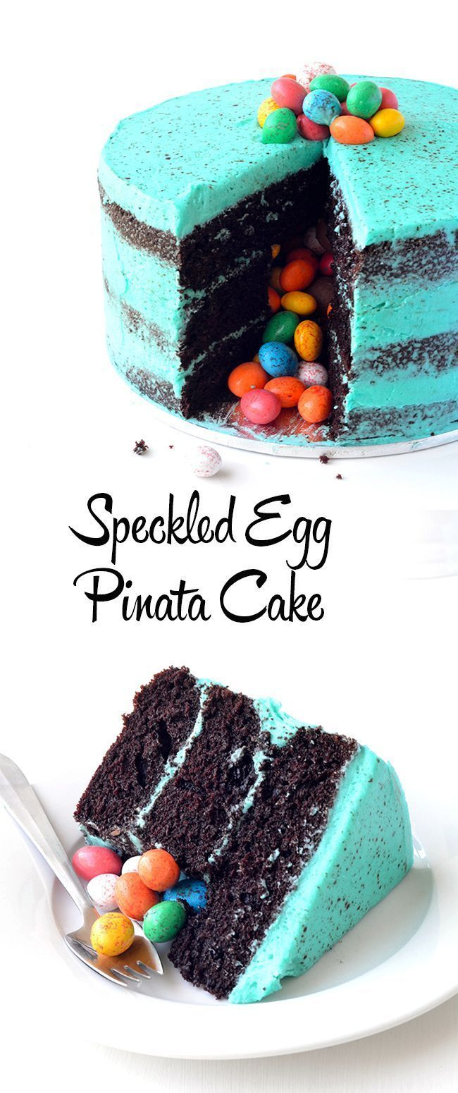 Photo of Speckled Egg Chocolate Pinata Cake – #Kuchen #Schokolade #Ei #Pinata #Speckled -…