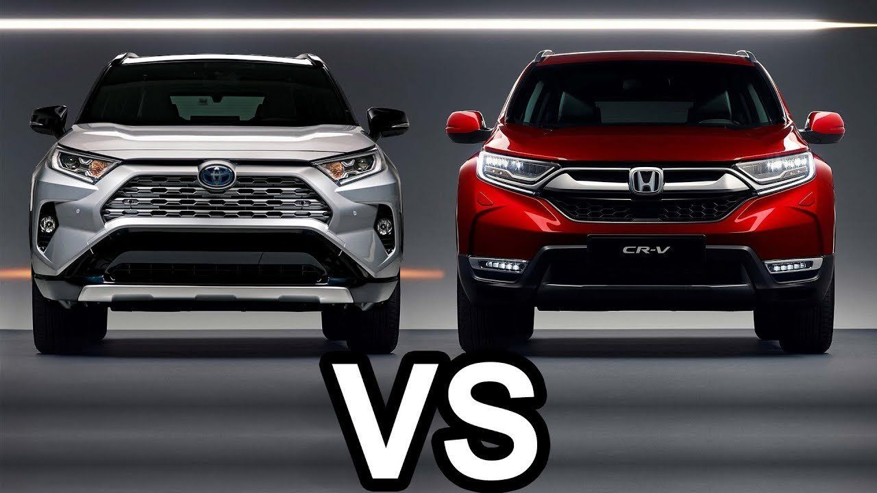 2019 Toyota Rav4 Vs 2018 Honda Cr V Youtube Regarding 2019