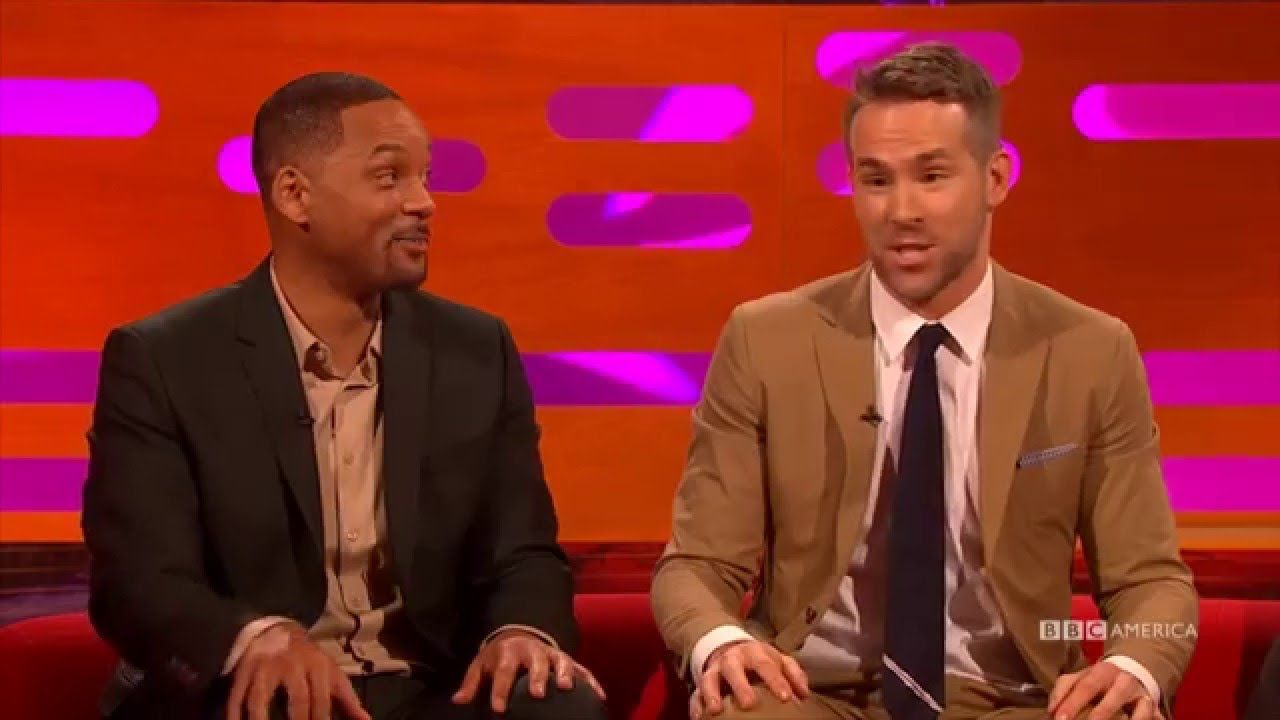 Cleaning ladies mrs overall on the graham norton show this week and - Ryan Reynolds Worst Flirting The Graham Norton Show
