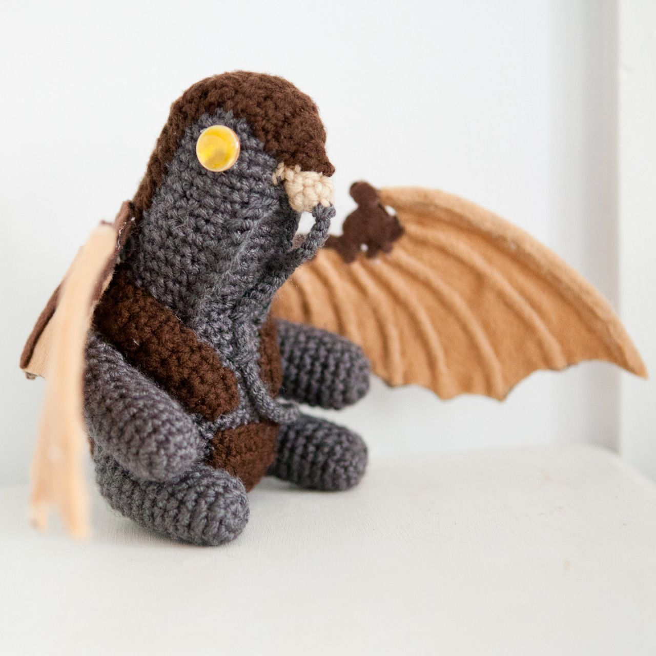 Amigurumi Crochet Songbird, from Bioshock Infinite thebhivecreations ...
